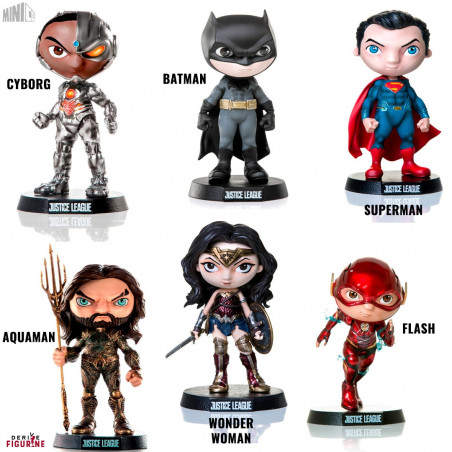 Figure Of Your Choice Mini Co Dc Comics Justice League Iron
