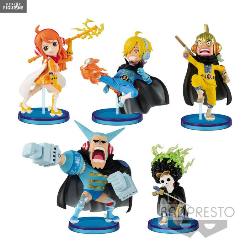 One Piece Levely Figurine Hina WCF Volume 1 par Banpresto