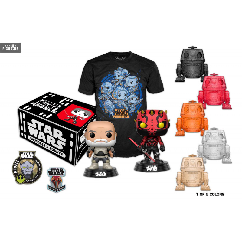 coffret cadeau smuggler 39 s bounty rebels star wars funko. Black Bedroom Furniture Sets. Home Design Ideas