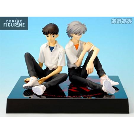 Neon Genesis Evangelion EVA Nagisa Kaworu & Ikari Shinji PVC Figure New In Box
