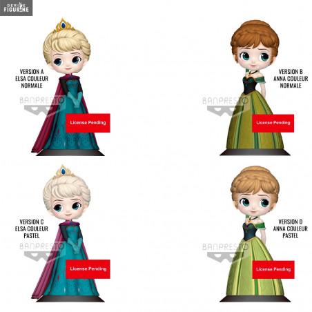 Disney Reine des Neige Frozen Figurine Q-posket Anna Coronation Banpresto