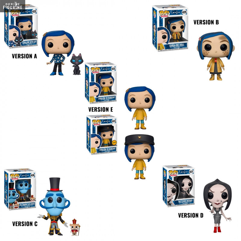 Coraline Pop Of Your Choice Funko