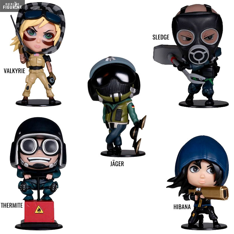Valkyrie, Hibana, Thermite, Sledge or Jäger figure of your choice, Six  Collection - Rainbow Six Siege - Ubisoft