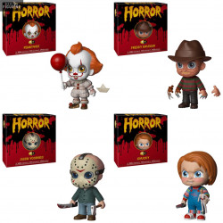 Horror - 5 Star figure of your choice, Jason, Freddy, Chucky or Pennywise