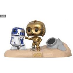 Moment C-3PO sur trône Funko POP