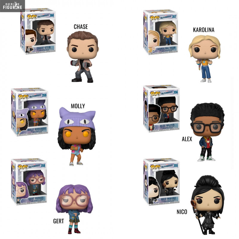 Runaways Of Your Choice Pop Marvel Funko