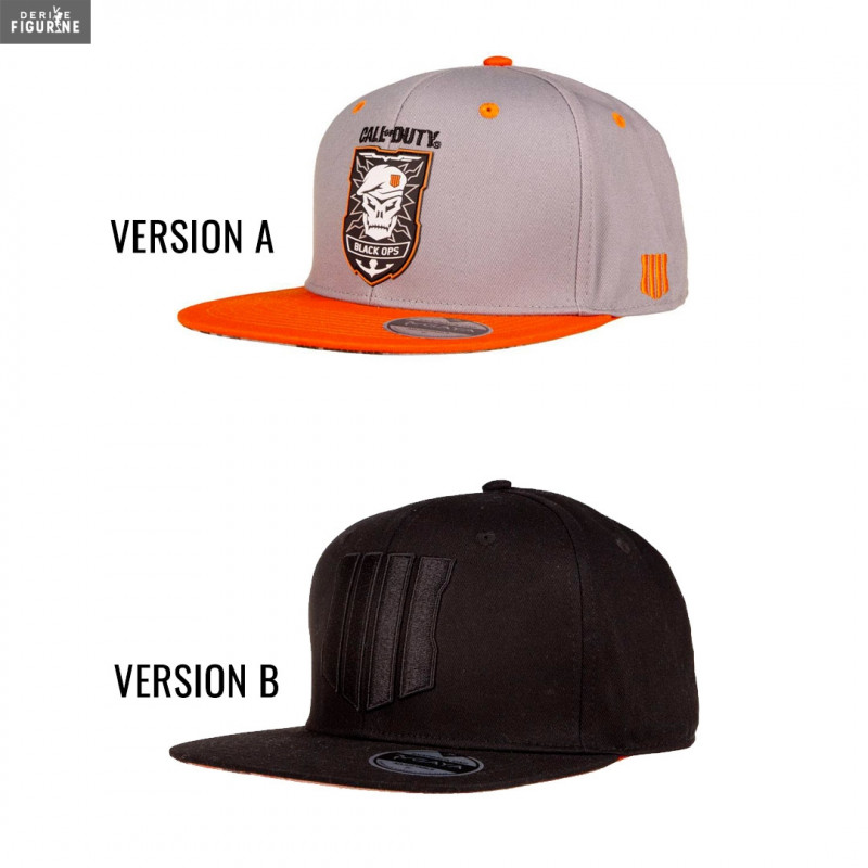 c43cac2cf0e Call of Duty Black Ops 4 cap of your choice between two different models  (see details in description). The manufacturer is Gaya Entertainment.