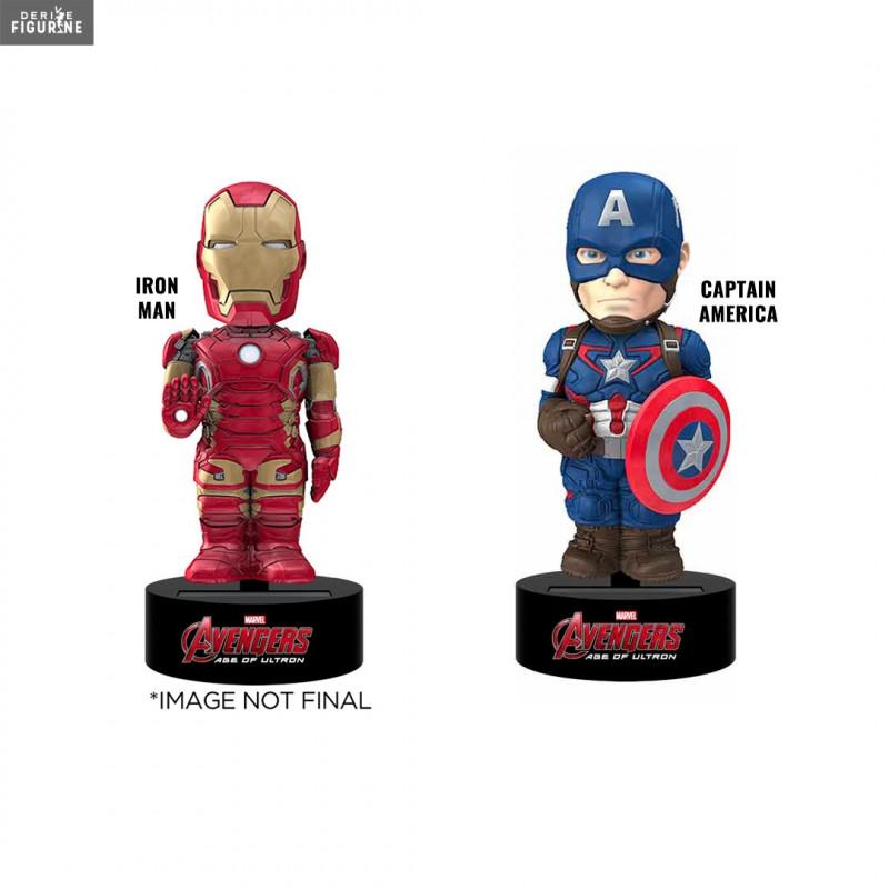 Au Man Figurine Captain AmericaBody Choix Iron Marvel Knocker Ou yvO8w0mNn
