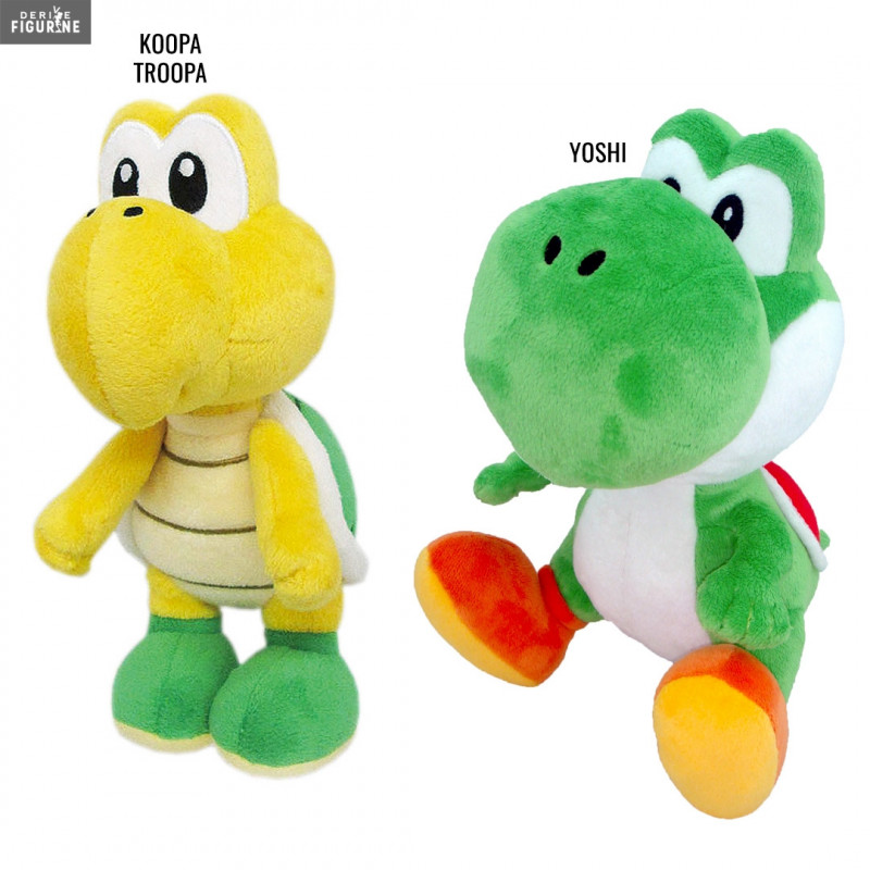 Koopa Troopa Or Yoshi Plush Of Your Choice Super Mario Bros