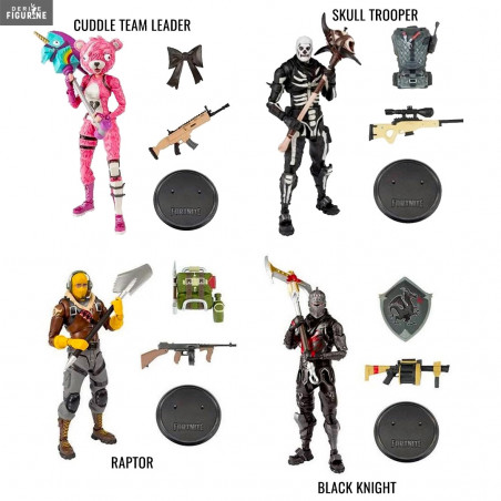 Figurine Au Choix Cuddle Team Leader Raptor Skull Trooper Ou Black
