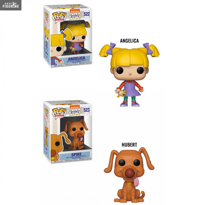 Pop Angelica Ou Hubert Au Choix Les Razmoket Funko