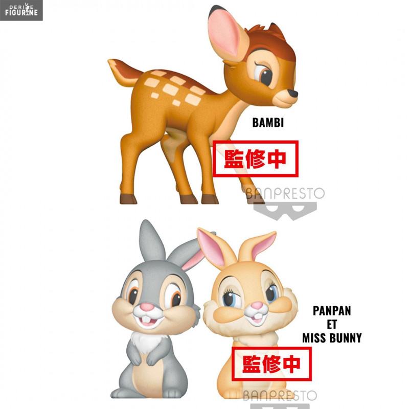 510c773af Bambi or Thumper and Miss Bunny figure, Fluffy Puffy - Disney - Banpresto