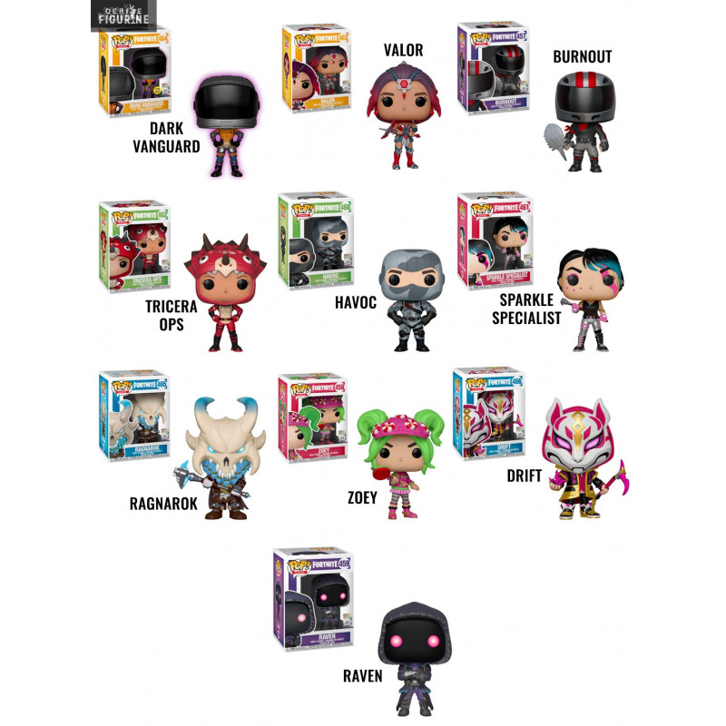 Pop Fortnite Of Your Choice Wave 2 Funko