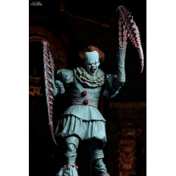 """NECA-Elle 7/"""" Scale Action Figure-Ultimate bien House Pennywise 2017"""
