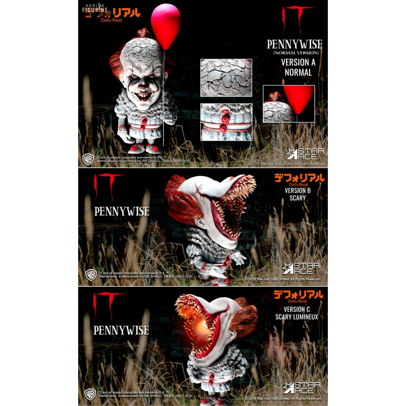 Figure Pennywise Normal A Scary B Or Scary Luminous