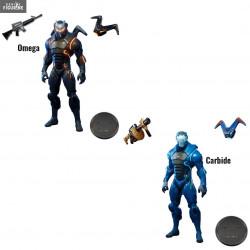 fortnite figurine au choix omega ou carbide - iron man concept fortnite