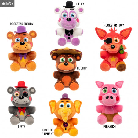 8 styles FNAF Five Nights At Freddy hat soft stuffed cap Freddy Foxy Chica Ma...