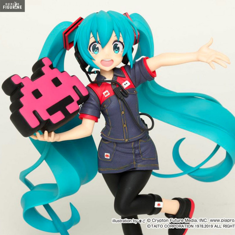 Hatsune Miku Spring School Wear Figure Japan Anime Model Lovely Action Figures Collectible Model Kids Toys Bright Luster Toys & Hobbies