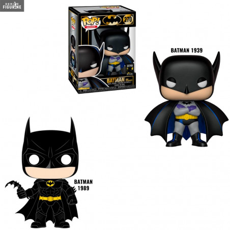 Batman 80th : 1st Appearance 1939 Funko DC Comics Pop!