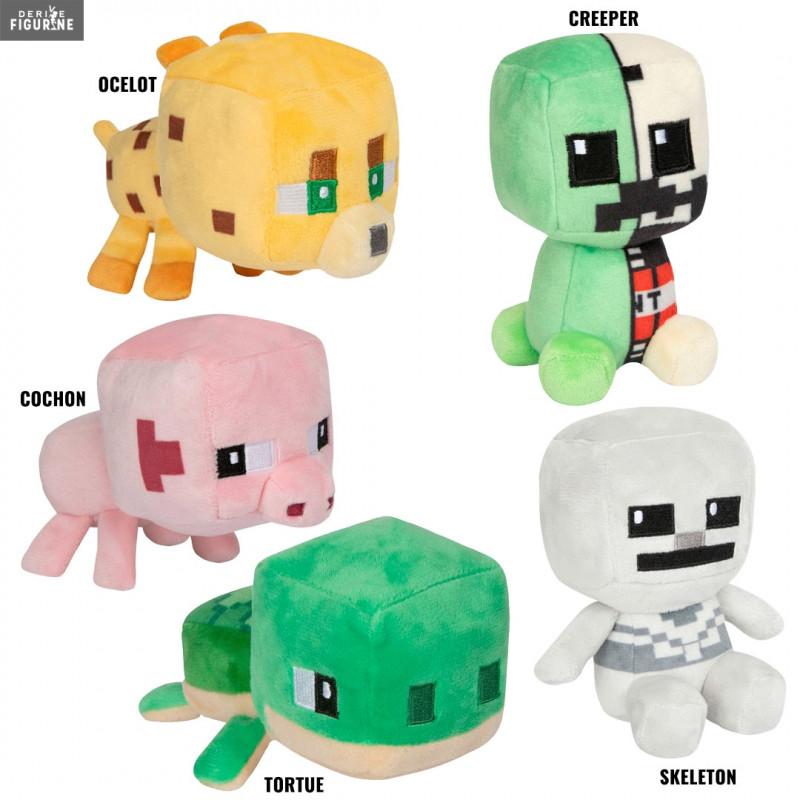 Challen Children Plush toys favorite cartoon Minecraft Creeper 7