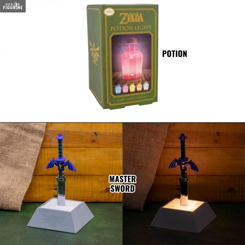 Potion Or Master Sword Night Light The Legend Of Zelda Paladone