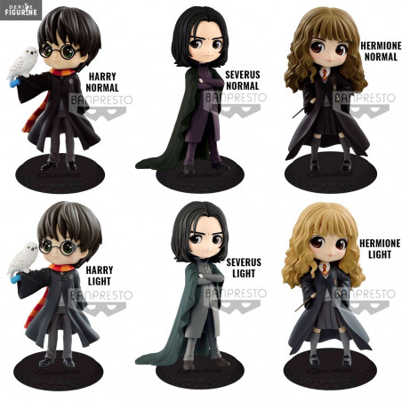 Harry Potter Harry /& Hedwige version A 14 cm Figurine Qposket II Banpresto