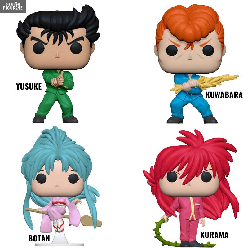 Yu Yu Hakusho Yusuke Pop Vinyl Figure: Yusuke, Kurama, Kuwabara Or Botan Pop! Of Your Choice