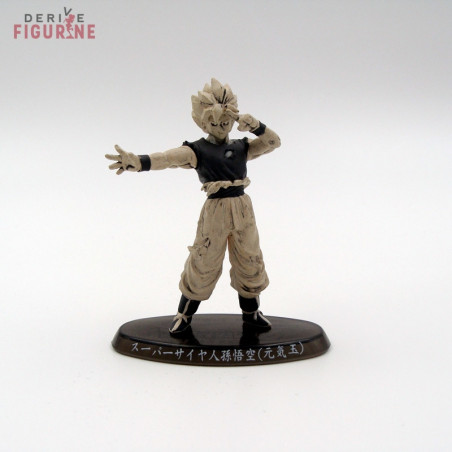 Dragon Ball Z Figurine De Sangoku Super Saiyan Soul Of Hyper Figuration Noir Et Blanc Seconde Main