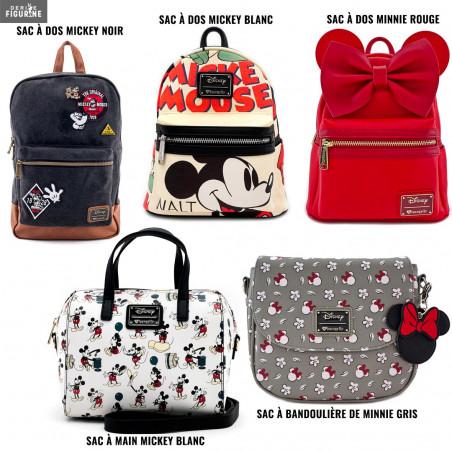 Loungefly x Kingdom Hearts Mickey Mouse Sac /à bandouli/ère