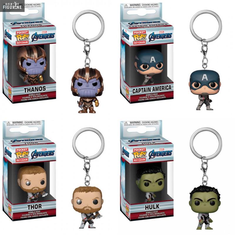 Avengers Endgame Funko Pop Hulk Keychains