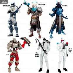 Fortnite - Ragnarok, Overtaker, Ice King, A I M, Wild Card Black or Red  figure