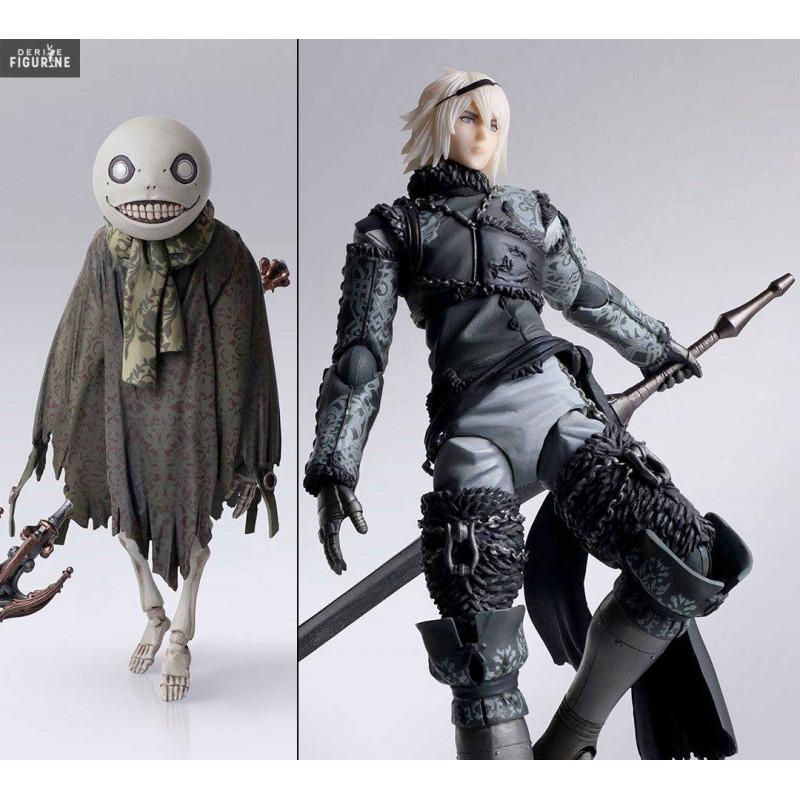 Pack 2 figures Nier & Emil, Bring Arts - NieR RepliCant - Square Enix