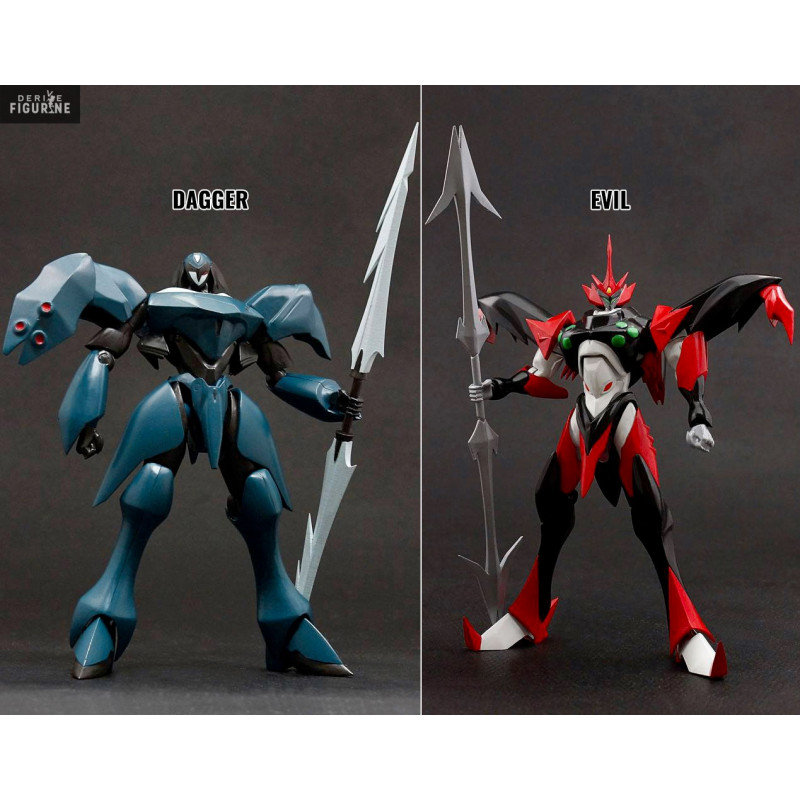 Figure Dagger or Evil, Dynamite Action - Tekkaman Blade - Evolution Toy