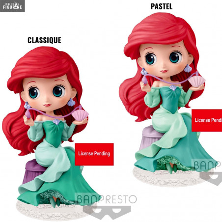 Disney Characters Q Posket Little Mermaid Ariel Dream Style figure Banpresto