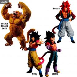 PRÉCOMMANDE - Dragon Ball GT - Figurine Super Saiyan 4 Goku, Vegeta ou  Gogeta ou Golden Ohzaru Goku, Ichiban Kuji