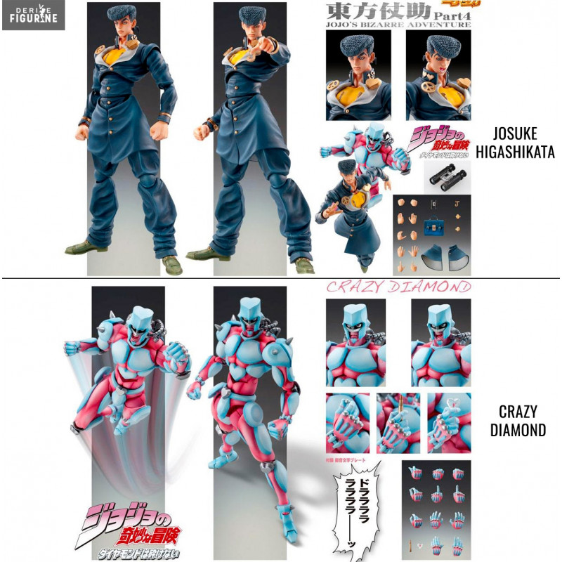 Josuke Higashikata Or Crazy Diamond Figure Super Action Chozokado Jojo S Bizarre Adventure Medicos Entertainment It can dora and fix! josuke higashikata or crazy diamond figure super action chozokado jojo s bizarre adventure medicos entertainment