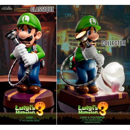 Luigi S Mansion 3 Luigi Figure Classic Or Collector With Polterpup