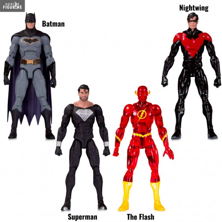 Superman Man of Steel Superman Plastic Trick or Treat Bag SET of 3