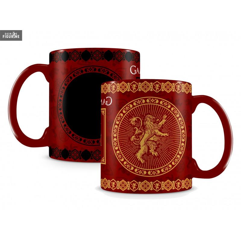 mug effet thermique lannister le tr ne de fer game of