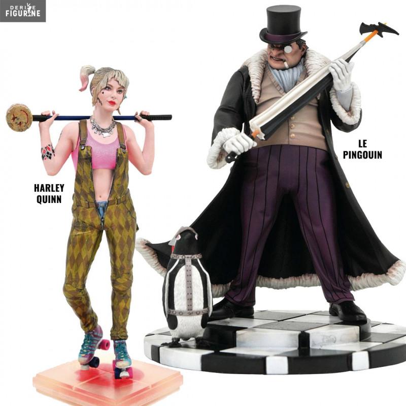 Harley Quinn Birds Of Prey Or Penguin Figure Gallery Dc Comics Diamond Select Toys