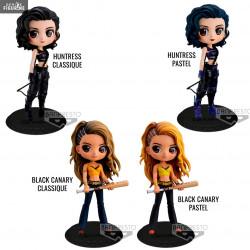 Huntress Or Black Canary Figure Classic Or Pastel Q Posket Dc Comics Birds Of Prey Banpresto