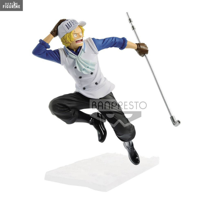 Sabo figurine one piece collection hachette n44 avec fascicule neuf