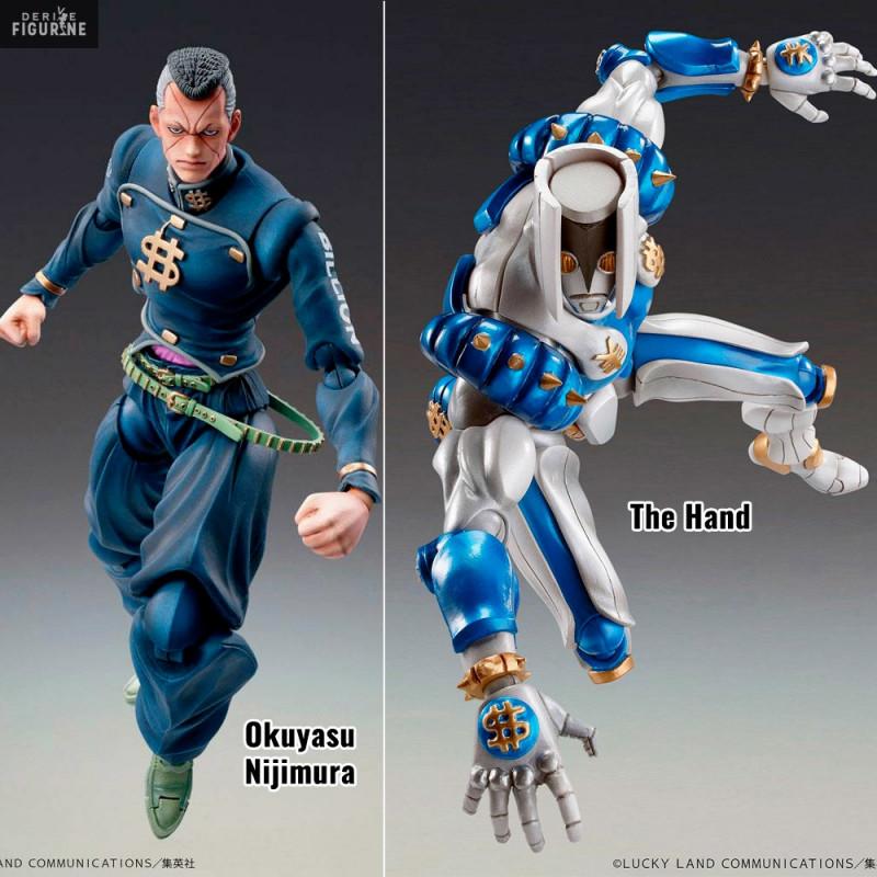 Chozo Kado Okuyasu Nijimura Super Action Statue JoJo/'s Bizarre Adventure Part 4