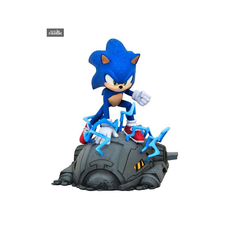 Sonic Figure Sonic The Hedgehog Diamond Select Toys