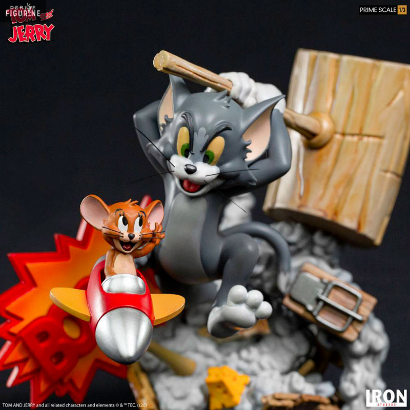Figurine Tom & Jerry, Prime Scale Iron Studios