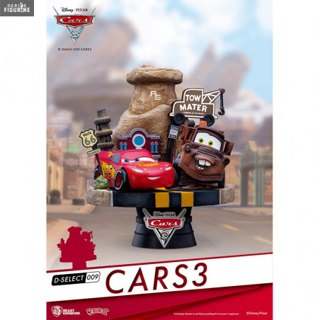 figurine flash et martin disney pixar cars 3 beast kingdom. Black Bedroom Furniture Sets. Home Design Ideas