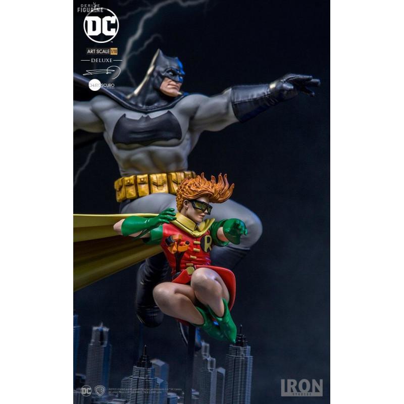 Figurine batman et robin dc comics dark knight returns - Image de batman et robin ...