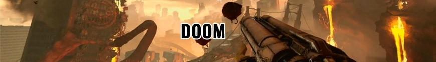 Figurines Doom et produits dérivés
