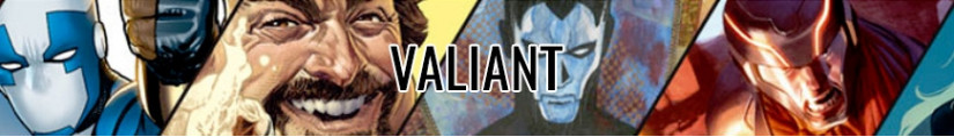 FiguresValiant Comics and merchandising products