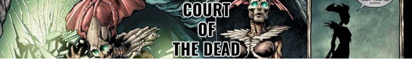 Figures Court of the Dead and merchandising products